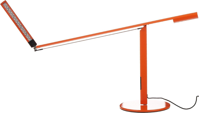 Koncept ELX-A-W-ORG-DSK Equo LED Desk Lamp, Warm Light, Orange
