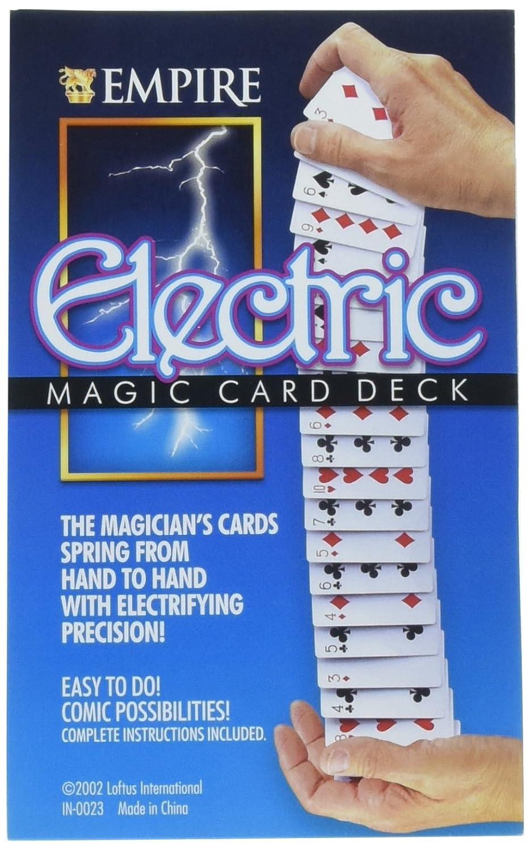 Baraja eléctrica (25 cartas) - Juego de Magia: Amazon.es ...