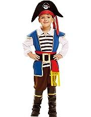 My Other Me Me-202004 Disfraz de pequeño pirata para niño 3-4 años Viving Costumes 202004