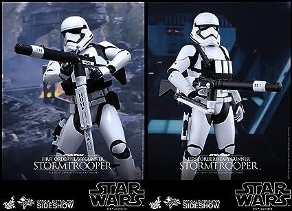 1//6 Scale Stormtrooper Pistol Gun Weapon Model Toy Fit 12/'/' Solider Figure
