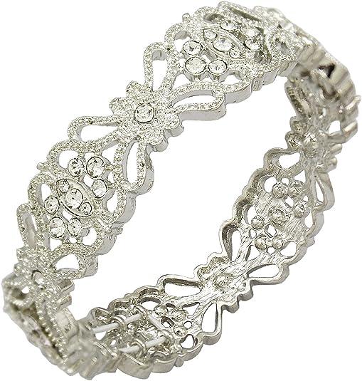 1920S Bridal Cuff Bracelet