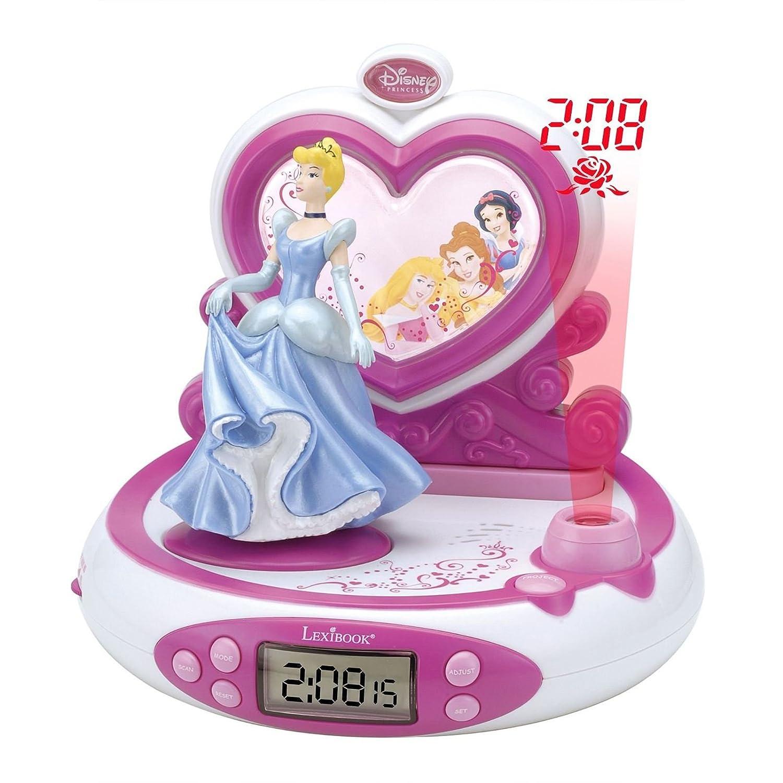 Disney Princess Radio despertador proyector: Amazon.es ...