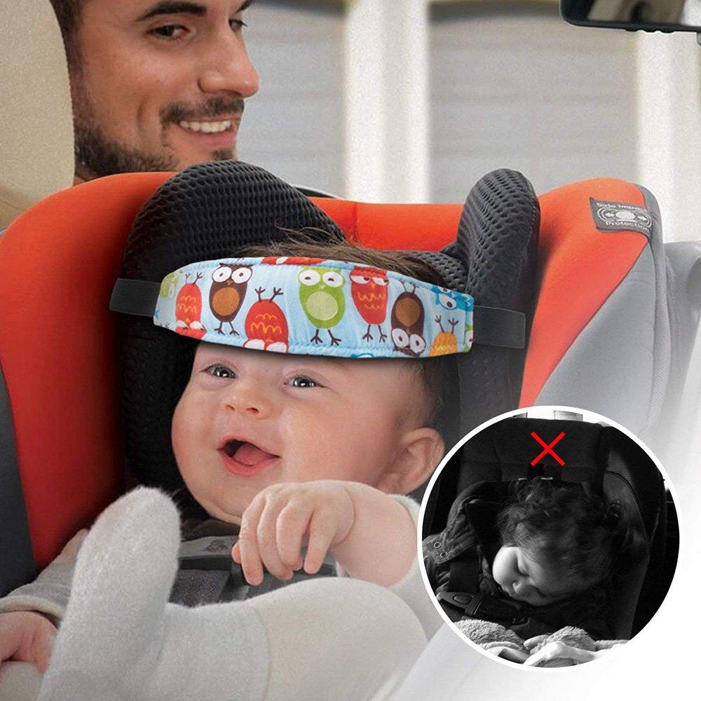 Gelegentliche Muster Kleinkinder Baby-Kopfstuetze Pram Spaziergaenger-Siche T2M1