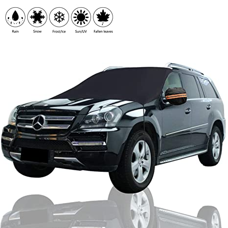 Winter Car Cover >> Windshield Snow Cover Winter Car Snow Cover Universal Huge Size Fits Any Car Truck Suv Van Automobile Premium Protector Shade For Snow Ice