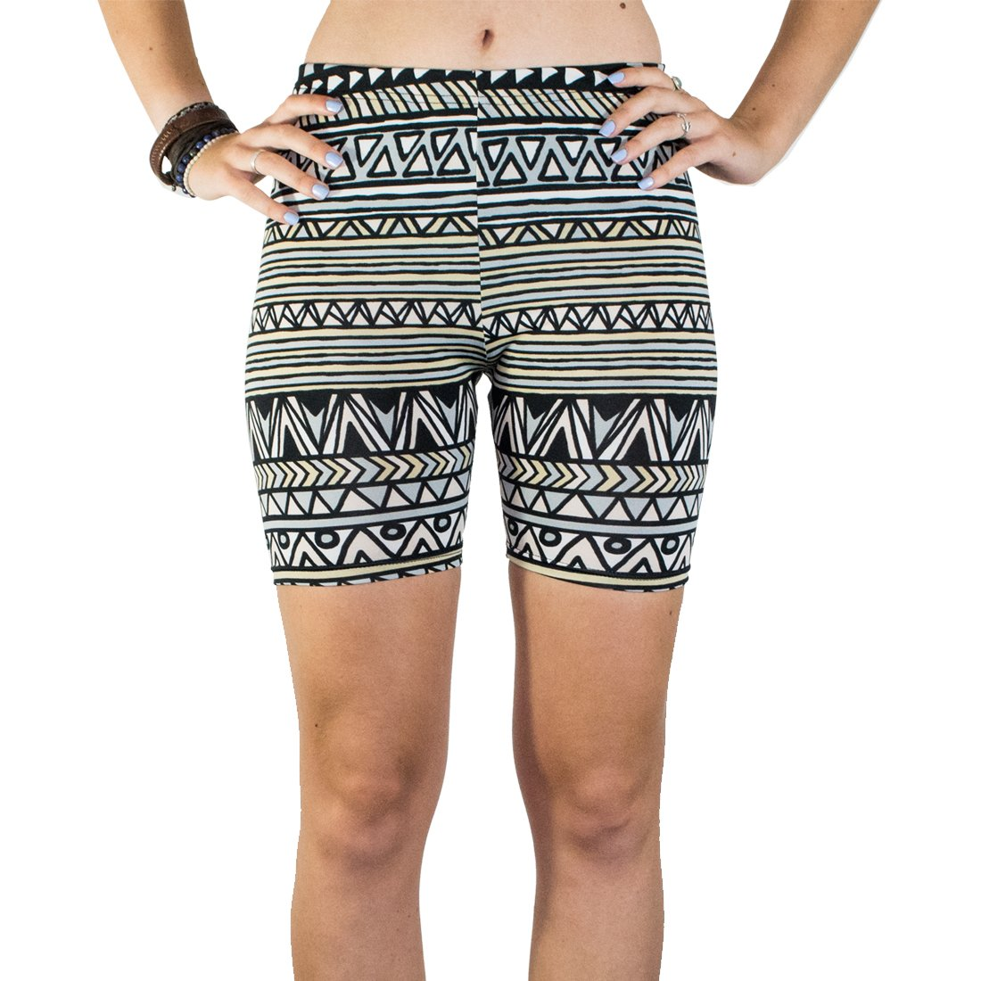 Booties, Women's Breathable Yoga Exercise Swim Party Shorts :: Mayan Ascent