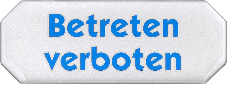 Meister - cartel - 107 x 40 mm - Efecto 3d/señalización/Info ...