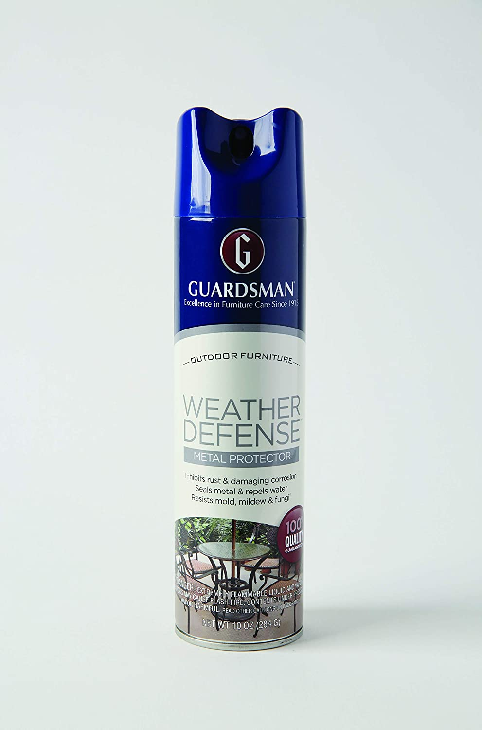 Guardsman 461800 Weather Defense Outdoor Metal Protector - Inhibits Rust and Water Stains, 10 Oz