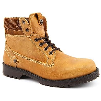 700717dab Ladies Wrangler New Creek Tan Ankle Boots Size 6: Amazon.co.uk ...
