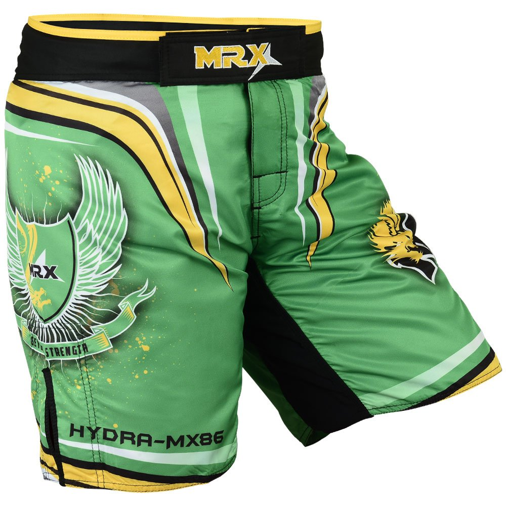 MRX MMA Training Fight Shorts Grappling UFC Cage Fighting Stretch Penals Clothing Kickboxing Muay Thai Hydra-MX86-CA Mrx Products