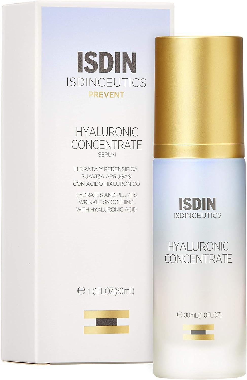 Isdinceutics Hyaluronic Concentrate, Sérum Facial Ligero y Ultrahidratante, con Ácido Hialurónico - 30ml