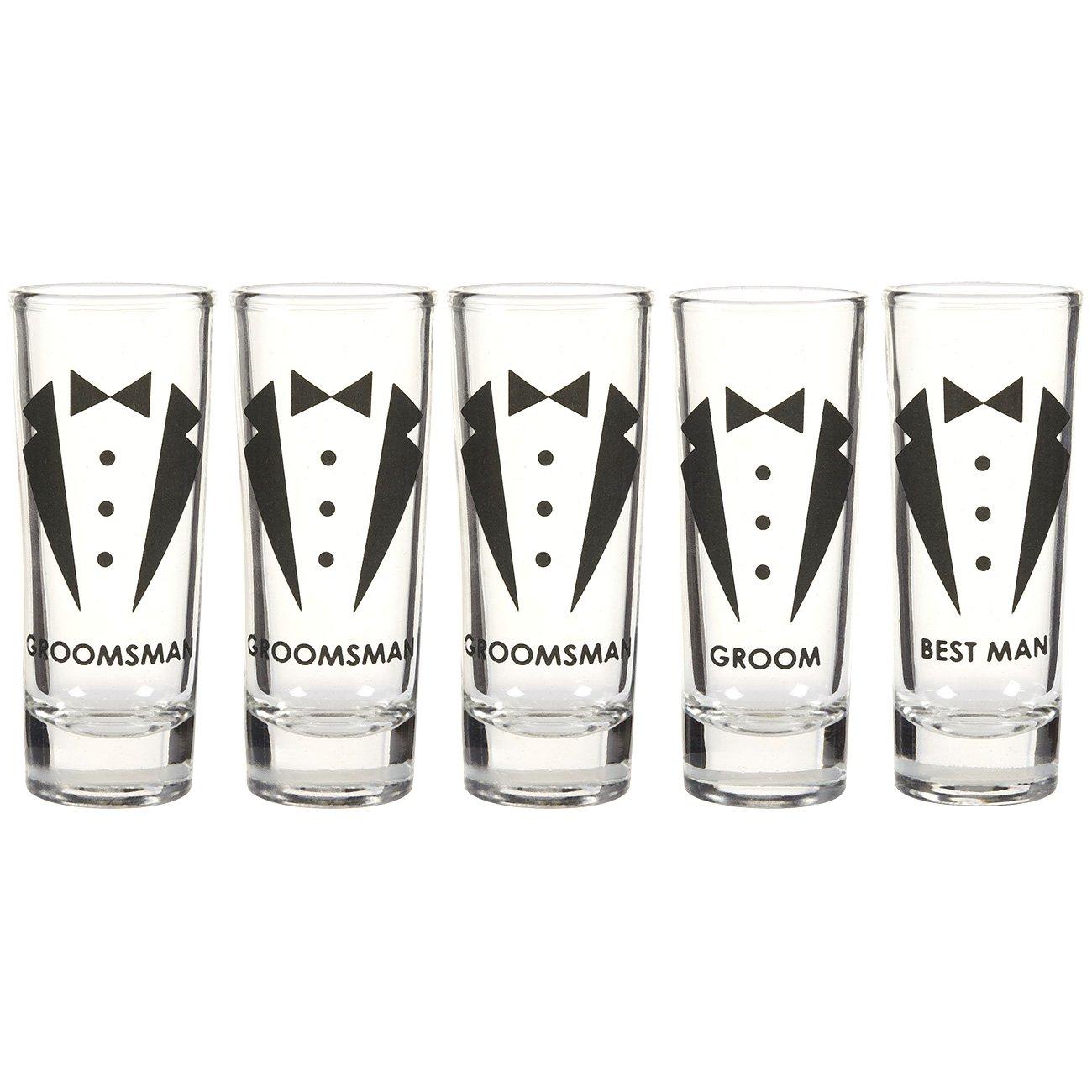Amazon.com | Party Favors Shot Glasses - Bachelorette Shot Glasses ...