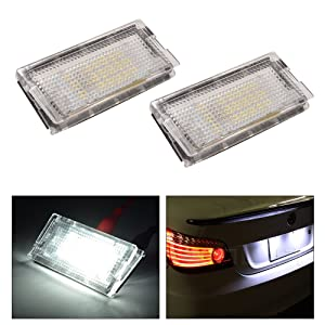 Canbus Number Plate Light Car Bulb Soffite Inion/® Xenon White C5/W Licence Plate Lighting 2/x 36/mm 3/SMD LED Cold White