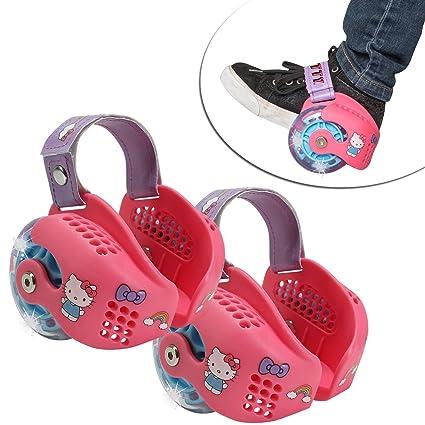 ea5988deed0 Amazon.com : Playwheels Hello Kitty Heel Wheel Skates : Sports ...