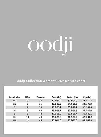 Oodji Collection elegancka sukienka damska z kroplomierzem na plecach: Odzież