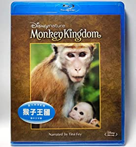 Monkey Kingdom Disneynature (Region Free Blu-ray) (Hong Kong Version Documentary) Chinese subtitled