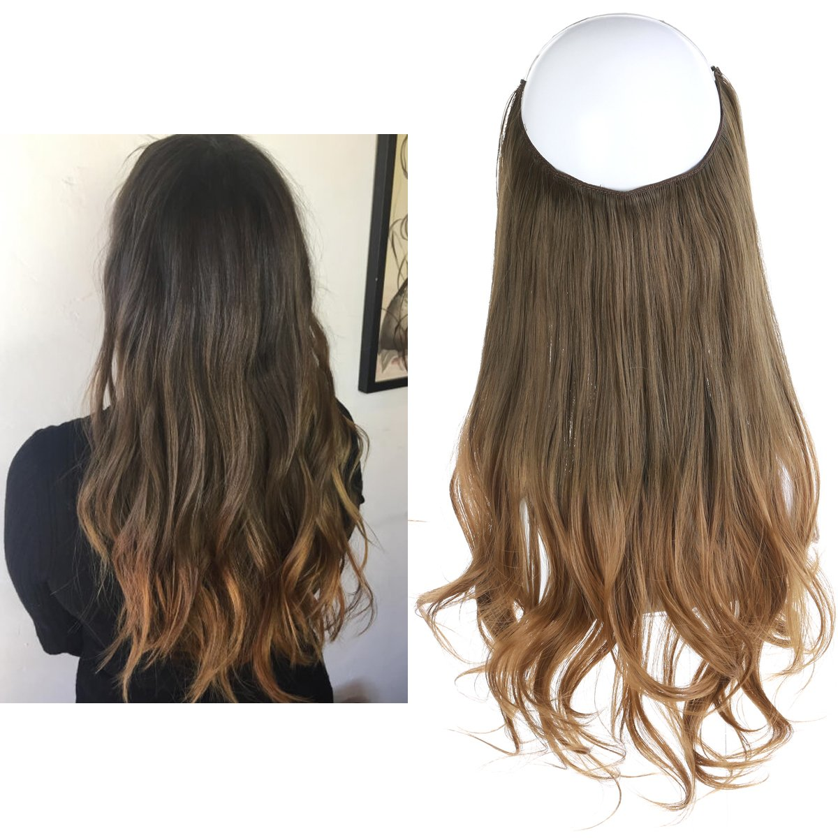 Amazon 20 Inches Wavy 34 Full Head Clip In Hair Extensions
