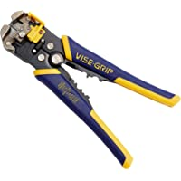 "IRWIN VISE-GRIP Self-Adjusting Wire Stripper, 8"", 2078300"