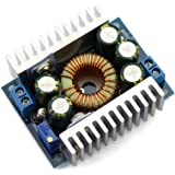 DZS Elec 12A DC-DC Step Down Buck Converter Low Ripple with Heat Sink 4.5V-30V to 0.8V-30V Vehicular Voltage Regulator