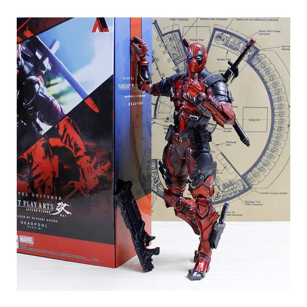 Xuping Toy Model Crafts Comics Series Spiderman Warrior Gioco Anime Toy Component Model