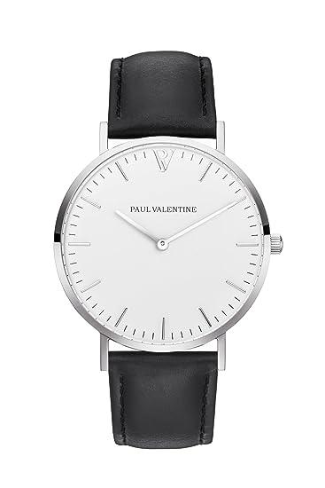 Black Paul PulseraMarina Plata Valentine De Reloj Mujeramp; KT1cl3FJ