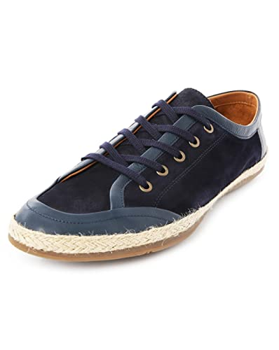 1534831cce44 PAUL AND JOE - Espadrilles - Men - Navy Suede and Leather Lace-up  Espadrilles