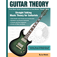 Guitar Theory: Straight Talking Music Theory for Guitarists book cover