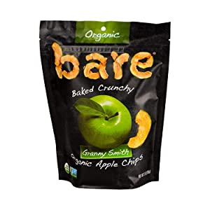 Bare, Fruit Snacks Granny Apple Organic, 3 Ounce