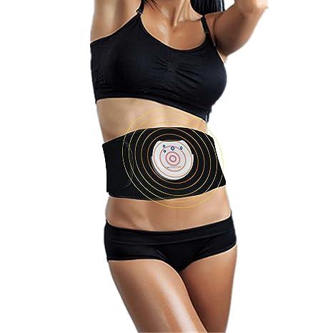 5e7c4d0415 mothermed EMS Waist Trimmer EMS ABS Fitness Belt Electronic Abdominal  Muscle Stimulator Stomach Workout Toning Massager