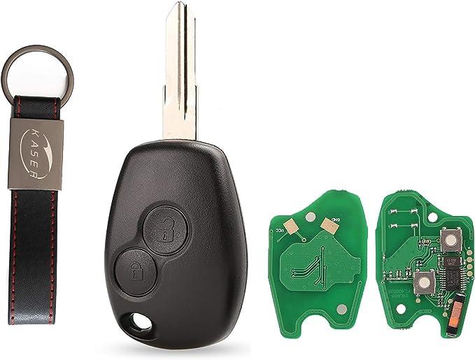 Schlüssel Fernbedienung Für Renault Mit Elektronische Karte Transponder 2 Tasten Für Megane 2 Scenic Clio Kangoo