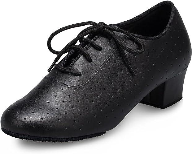 Party Prom Latin Salsa Ballroom Tango Modern Dance Shoes Closed Toe Gray Shoes
