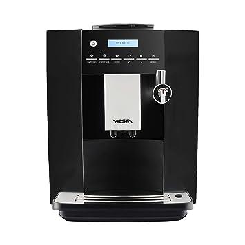 Cafetera automática de expreso, máquina de café, espresso, cappuccino, café con leche CB350PLUS negro: Amazon.es: Hogar