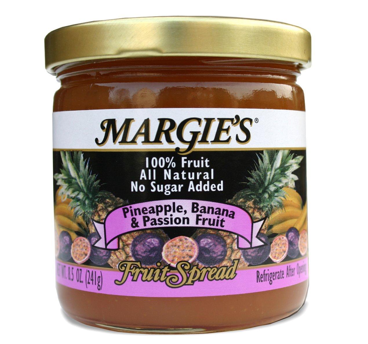Margie's Pineapple-Banana-Passion Fruit Spread