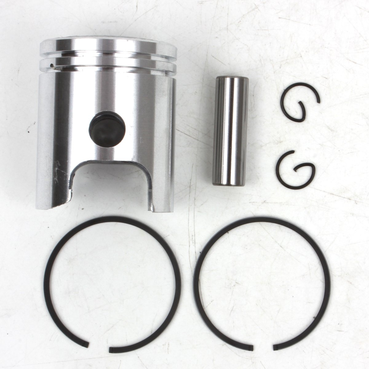 Piston Kit for 1994-2015 PW50 Y-Zinger 40mm Standard Bore STD 2-stroke 2000 2001 2002 2003 2004 2005 2006 2007 2008 2009 2010 2011 2012 2013 2014 PRO CAKEN