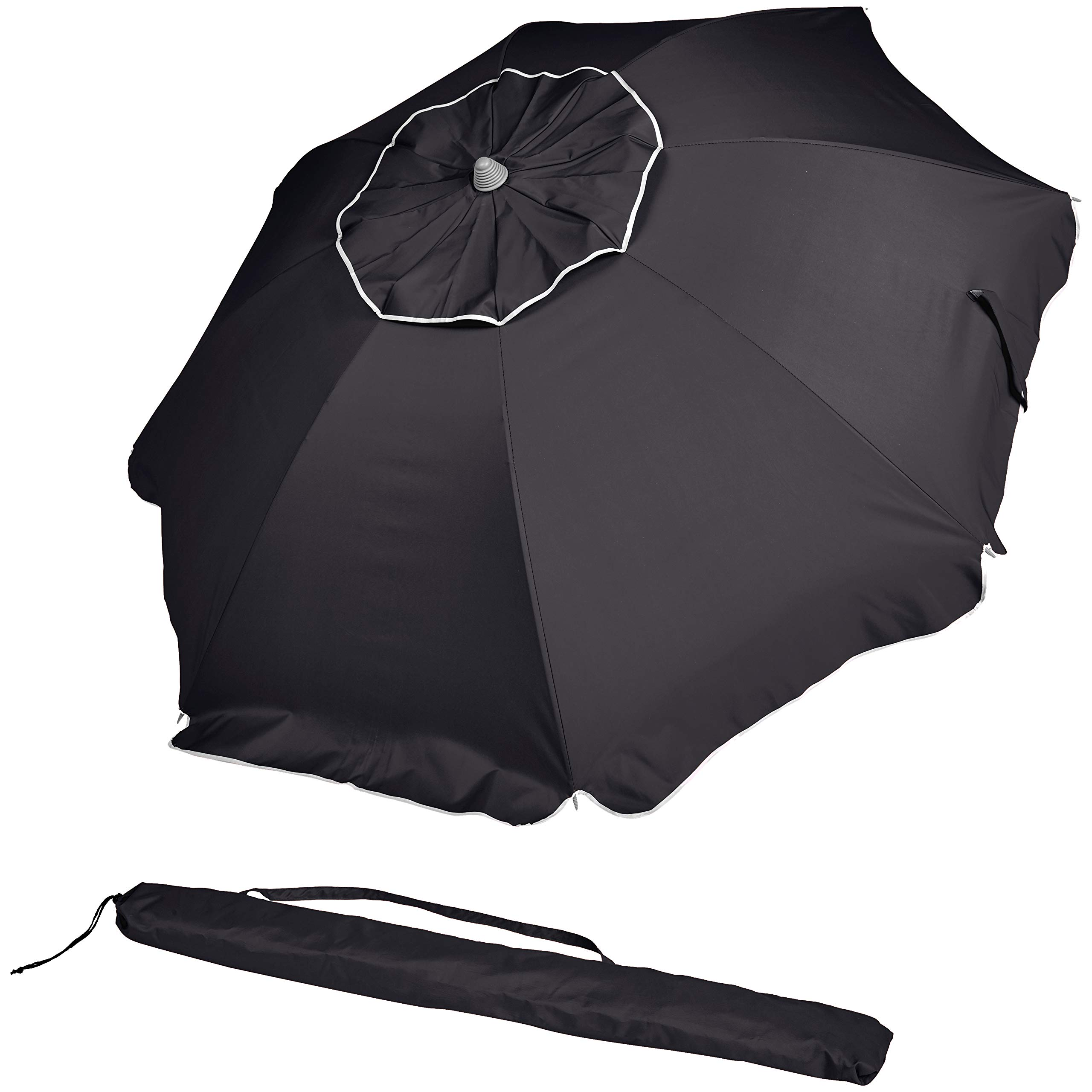 AmazonBasics Beach Umbrella - Black