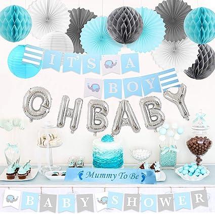 8 BABY SHOWER Little Peanut Boy SMALL PAPER PLATES ~ Party Supplies Dessert