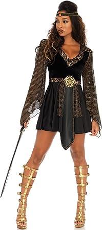 LEG AVENUE EUROPE Disfraz de Guerrera Amazona para Mujer ...