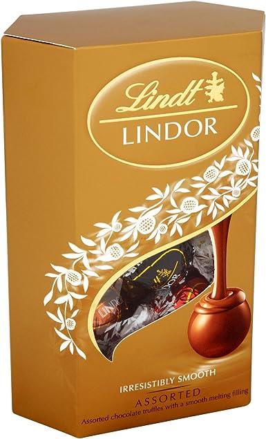 Lindt Lindor Corneta chocolate variado 200g (Pack de 2): Amazon.es ...