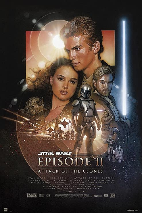Póster Star Wars Episode II Attack of The Clones/El Ataque de los ...