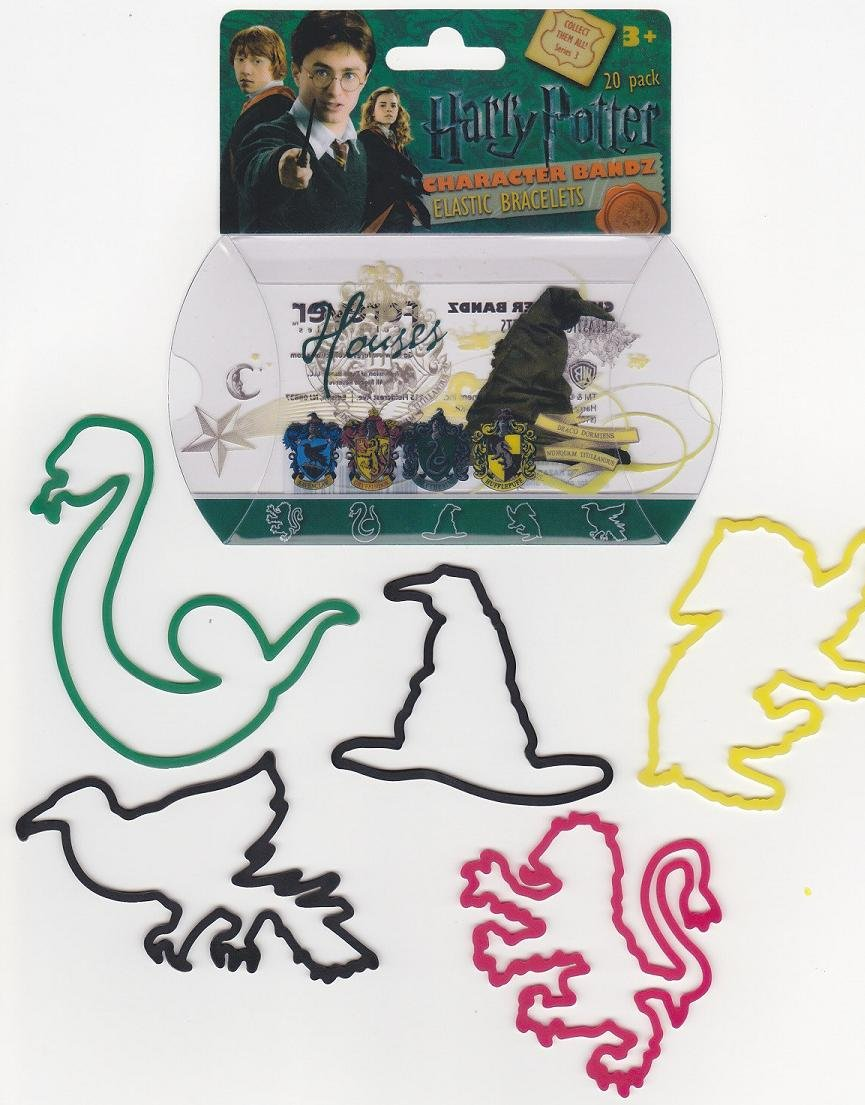 Harry Potter Houses Logo Bandz