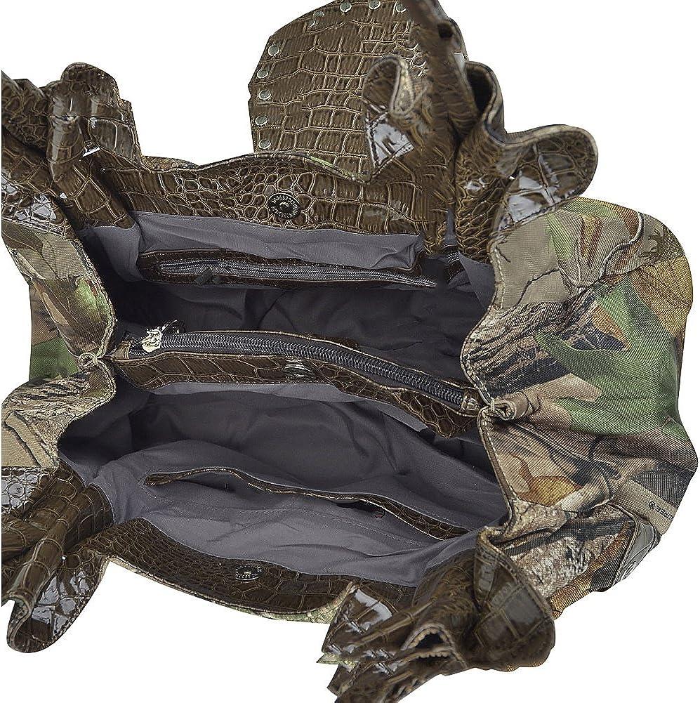 Dasein Studded Realtree Camo Shoulder Bag