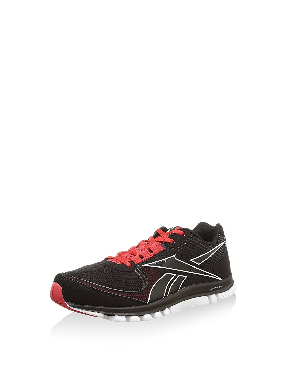 Reebok Sneaker Sublite Duo Rush Nero/Rosso/Bianco EU 40.5