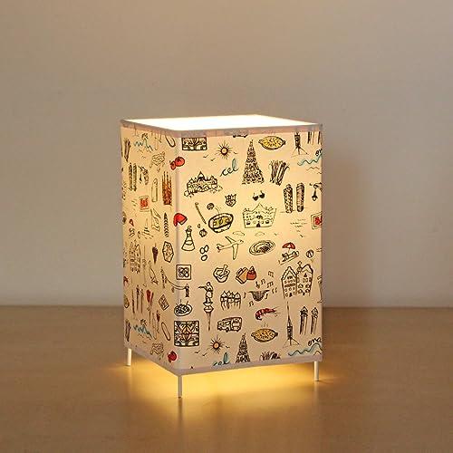 Lámpara de mesa 18 x 12 cm Barcelona Print, lámpara ...