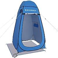 SONGMICS Bärbart pop-up tält, omklädningsrum integritetsskydd, för utomhus camping fiske strand dusch toalett, med…