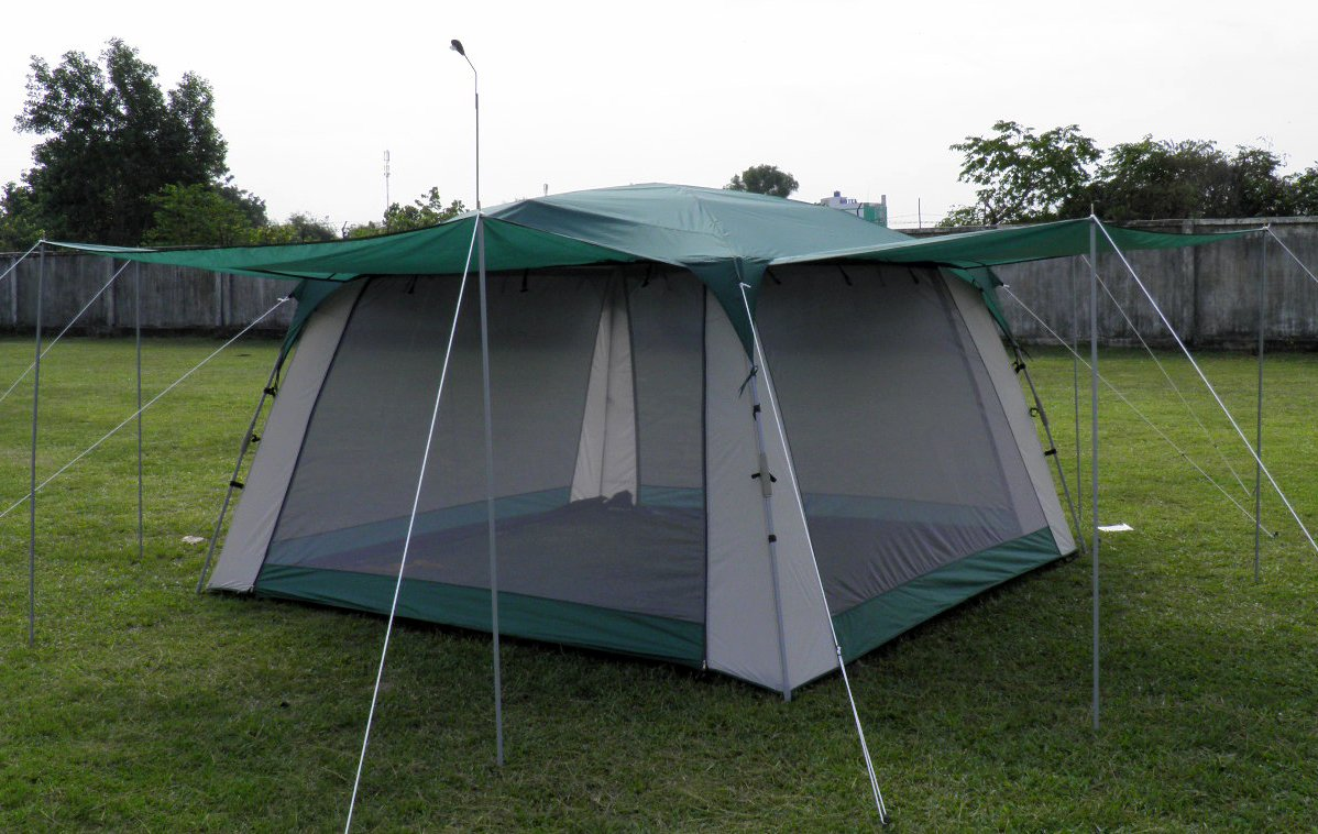 Screen Tent with Awnings and Side Walls - Pinnacle Tents Quick Set by Pinnacle Tents (Image #3)