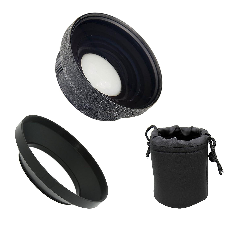 Leica d-lux (Typ 109 ) HD (High Grade)ウルトラワイド角度変換レンズ(低プロファイル) + Krusell multidaptネックストラップブラック仕上げ   B018C81MBW