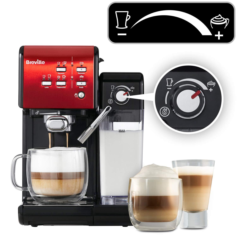 Breville vcf109 X de 01 prima Latte II Cafetera Eléctrica, color ...