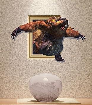 Weihnachts-Dekoration für Halloween 3D Wall (Meerschweinchen ...