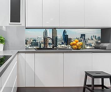 Kuchenruckwand Skyline London Nischenruckwand Spritzschutz Design