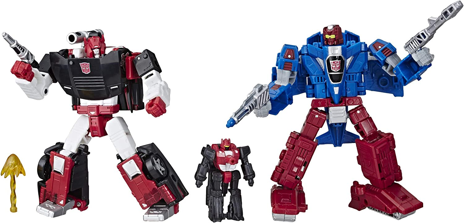 Transformers Toys Generations War for Cybertron Deluxe Wfc-S26 3 Pack