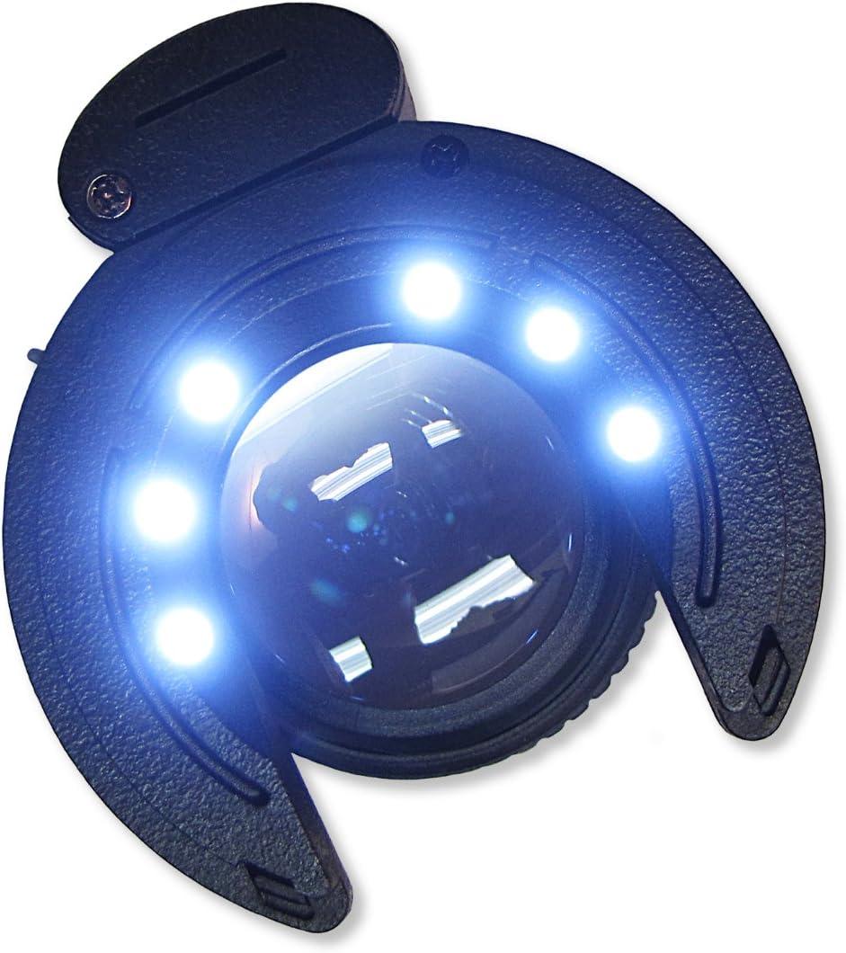 Carson SensorMag LED Lighted Cleaning Loupe for Camera Sensor 4, SM-44